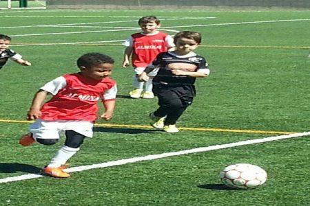 ker Bisan-Etame Moreno, el hijo del conocido futbolista Lauren