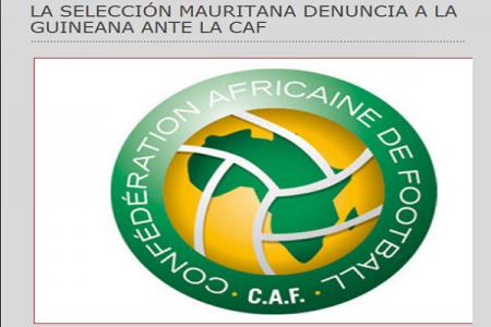 LA SELECCIÓN MAURITANA DENUNCIA A LA GUINEANA ANTE LA CAF