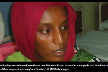 Sudán: La mujer condenada a muerte, liberada tras la presión internacional