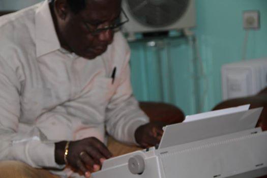 Bonifacio Nguema. Presidente  del FDR
