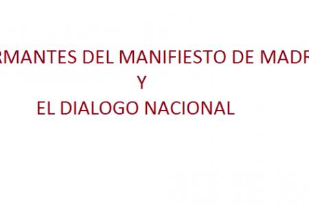 """FIRMANTES MM """"EXIGIMOS QUE OBIANG PUBLIQUE EL DOCUMENTO FIRMADO"""""""