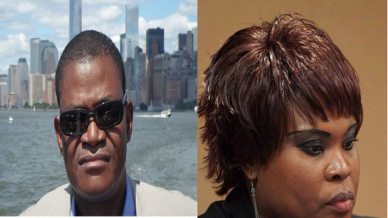 Andres Esono Ondo y Emely Nchama