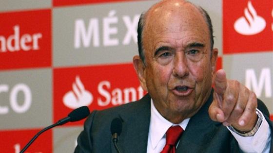 El presidente del Santander, Emilio Botín, fallece a los 79 años.