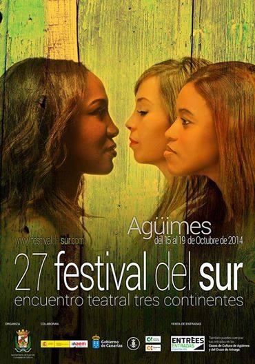 """""""EL PERCUSIONISTA"""" fue presentado también el pasado 15 de Octubre en EL 27 FESTIVAL DEL SUR-ENCUENTRO TEATRAL 3 CONTINENTES. AGÜIMES (GRAN CANARIAS)"""