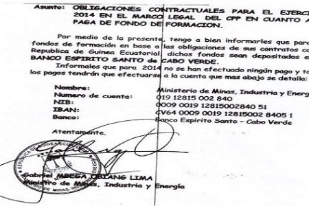 Lima Ordena a las empresas ingresar fondos en el Banco Espíritu Santo de Cabo Verde