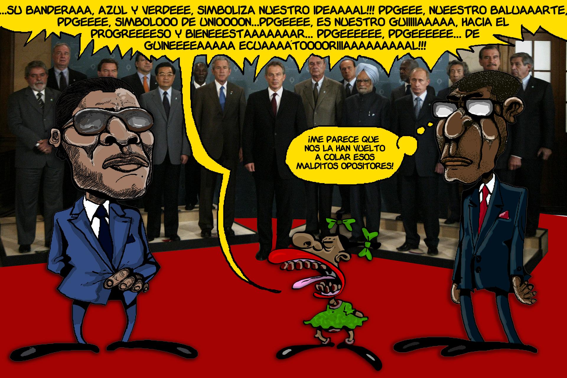 De Obiang a Nguema
