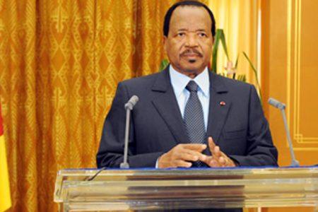 Paul Biya, en un eufórico discurso anuncio una millonaria inversión de 1,500 millones