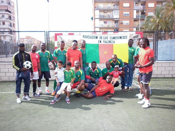 Equipo de Fútbol Asociación de Cameruneses  en Valencia