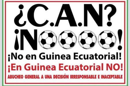 Dandy Parzy lanza una campaña contra la celebración de la CAN en Guinea Ecuatorial