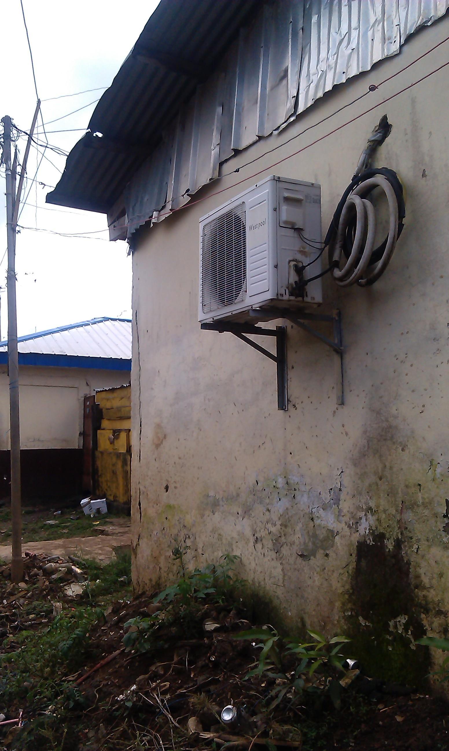 El del aire acondicionado es para el apartado de sueñan con una vida