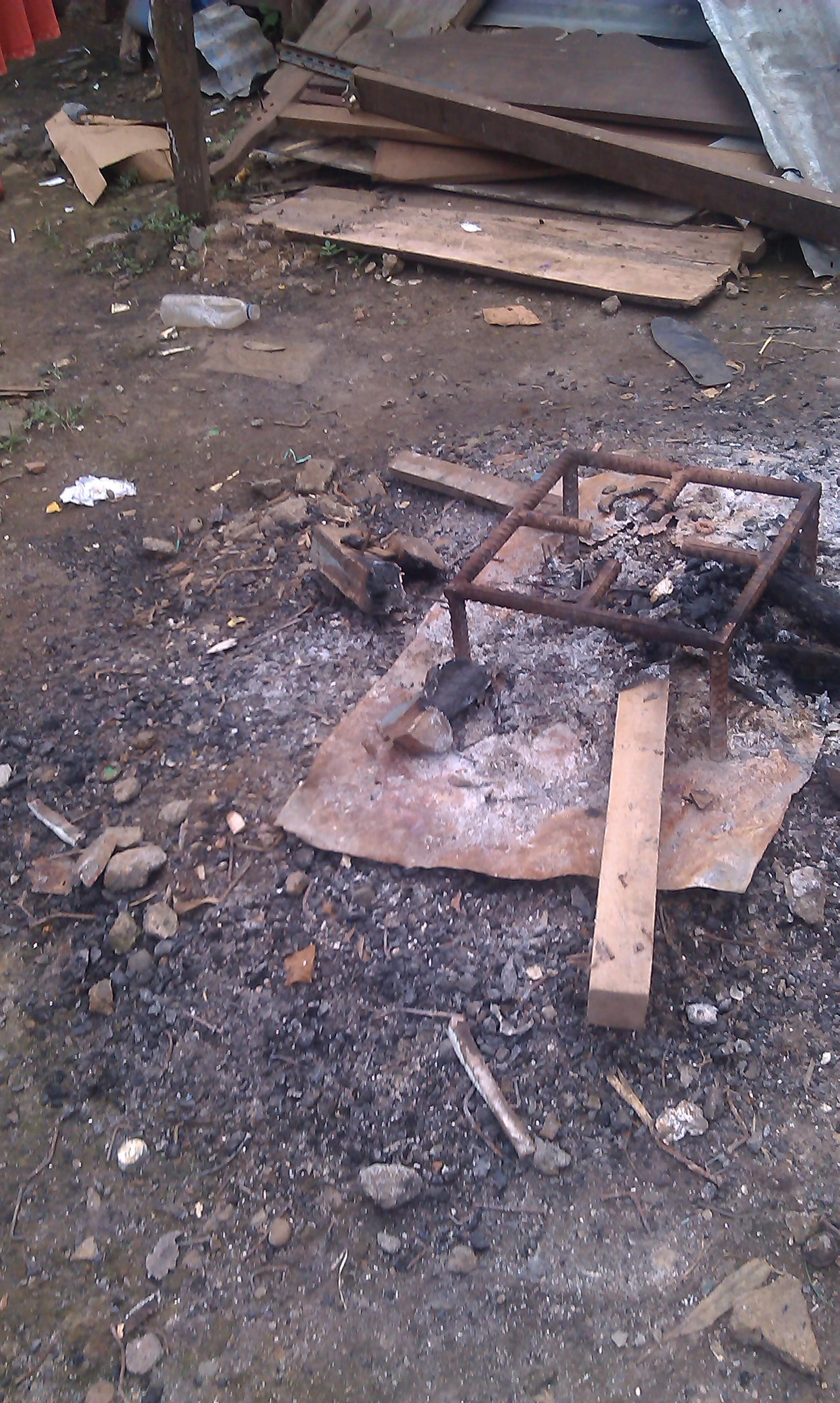 El del fuego es para el apartado de Cocina al aire