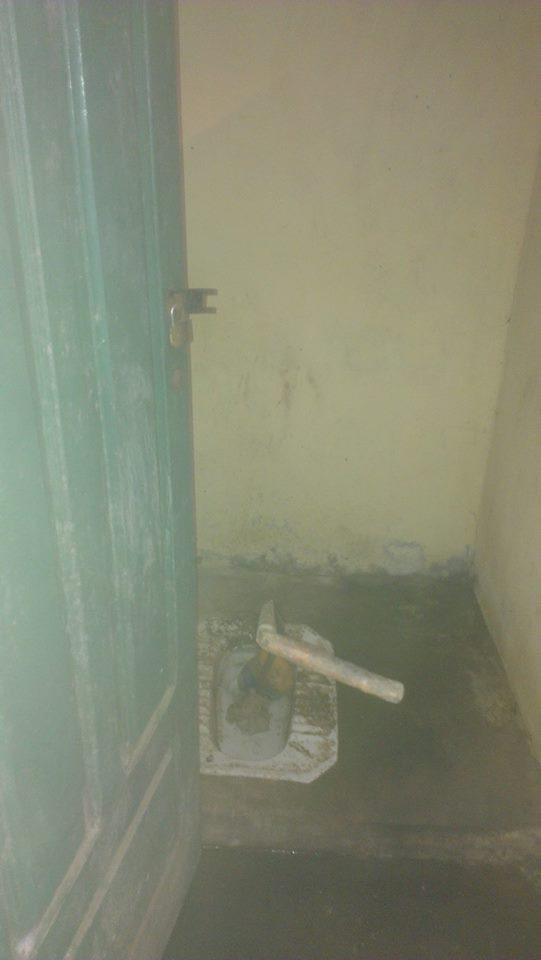 Los baños del Colegio de Comandachina