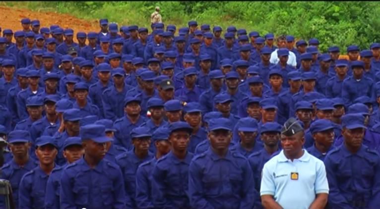 Estos son algunos de los nuevos cadetes.
