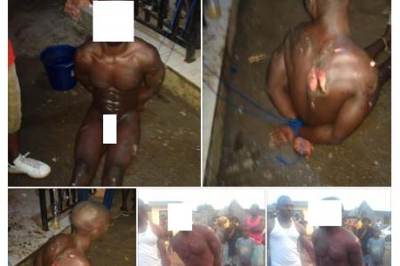 """Desnudan y linchan a un """"presunto ladrón"""" en Malabo (Guinea Ecuatorial)"""
