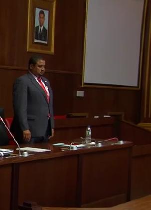 Juan Roku Enumbie Diputado de la Zona C y Segundo Vocal del Parlamento