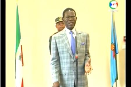 """Obiang """"hemos destituido a los miembros del Ayuntamiento de Bata por irregularidades"""""""
