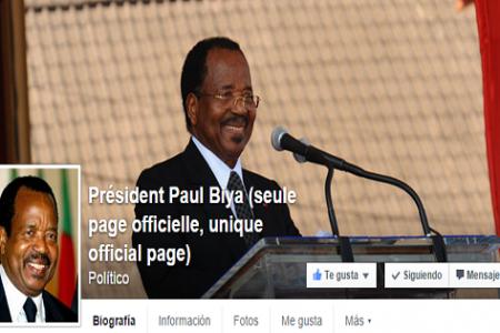 """El presidente de Camerún Paul Biya """"Los presidentes africanos nos avergüenzan en París"""""""