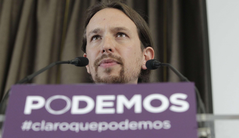 Pablo Iglesias Secretario General de PODEMOS