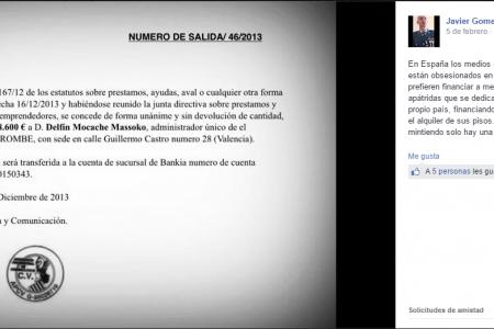 La Generalitat Valenciana y Diario Rombe, víctimas de las falsificaciones del Régimen de Obiang