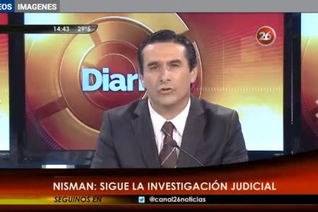 """López Carribero: """"La denuncia fue escrita por Alberto Nisman"""""""