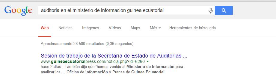 El Ministerio de Información, Prensa y Radio ordena borrar de la web de su Oficina de Prensa la noticia sobre las auditorias en dicho Departamento