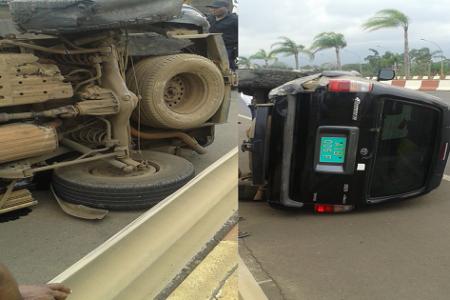 Última Hora: Brutal accidente de coche en la autovia de Malabo-Aeropuerto