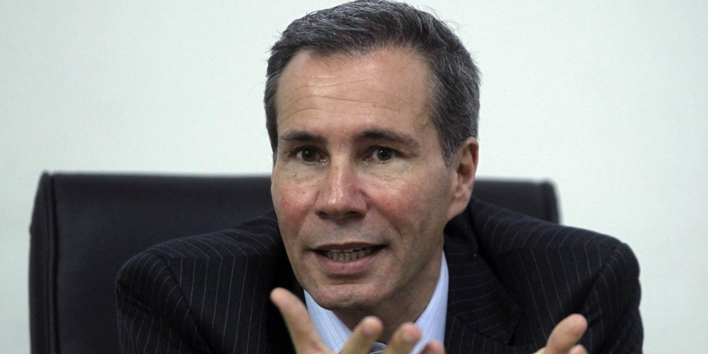 File photo of Argentine prosecutor Nisman during a meeting with journalists in Buenos Aires