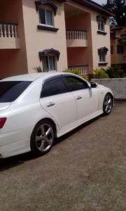 El vehiculo de Rogelio Edu Nfubea Asegue aparcado en la residencia privada de Chico Enri