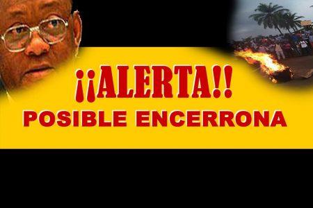 ALERTA DE UNA POSIBLE ENCERRONA EN LA UNGE EL 27 A LAS 15H00