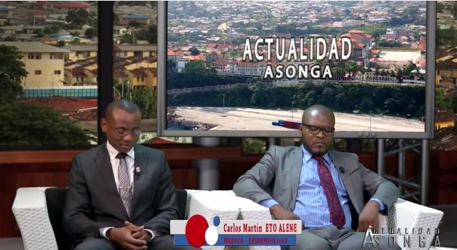Carlos Martin Eto Alene (Médico) y Estanislao Ondo Ondo (Abogado)