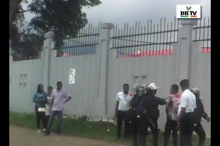Vídeo: Momentos de las detenciones de estudiantes de la UNGE en Malabo