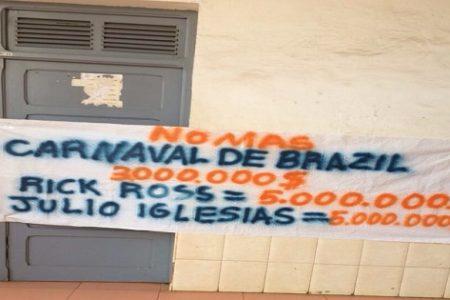 56 estudiantes de la UNGE detenidos y acusados de pertenecer a una banda organizada