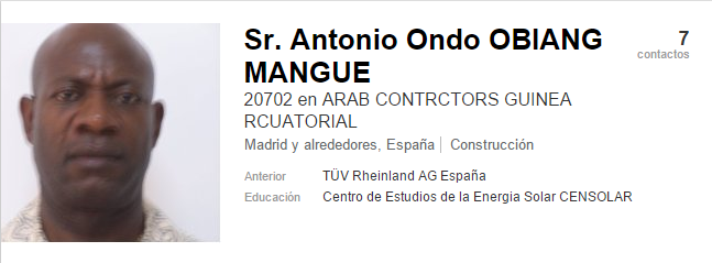 Antonio Ond Obiang Mangue