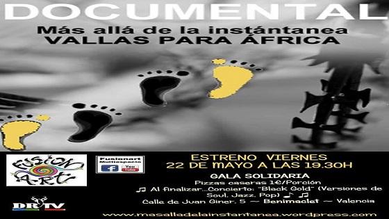 Diario Rombe estrena en Valencia su primer documental «Vallas para África»