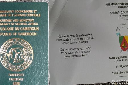 La Asociación de Cameruneses en Valencia distribuye los Pasaportes Biométricos