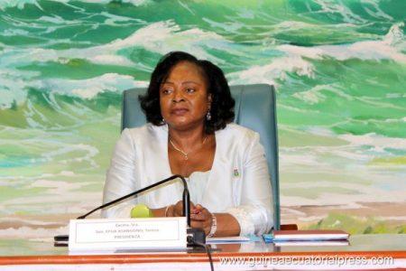 La presidenta del Senado ingresada en España y no en la Paz de Malabo o Bata
