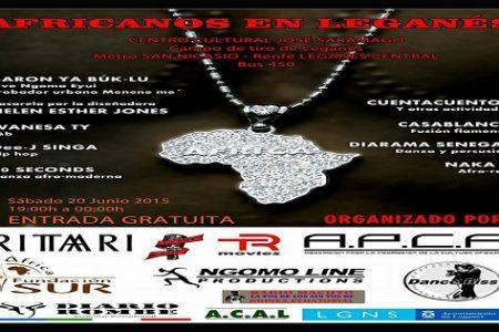 """Festival """"Africanos en Leganés"""" el próximo sábado día 20 de junio en Leganés"""