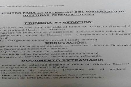 Sobornan al Director de la Seguridad Nacional para agilizar los trámites de solicitud de DIP