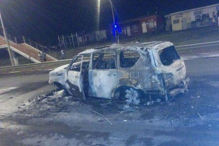 Imágenes del accidente que acabó con la vida de Leopoldo Nucio Rodriguez Nchama