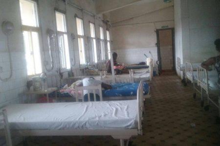 Imágenes de la Sección de Maternidad del Hospital Regional de Malabo