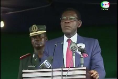 """Obiang Nguema """"el pluralismo político es un peligro para nuestro pueblo porque divide"""""""