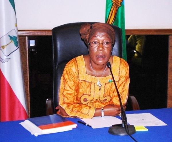 Maria Coloma Edjang Mbengno, Alcaldesa del Excelentísimo ayuntamiento de Malabo