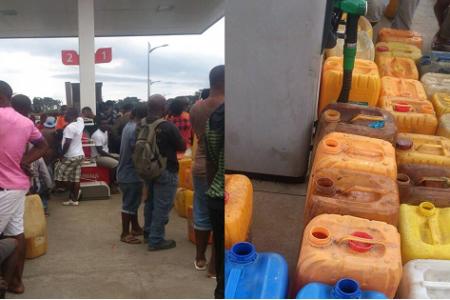 """Escasez de combustible en Mongomo, pueblo del hombre más rico de """"África"""""""