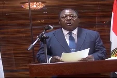 """Vídeo: Alfonso Nsue Mokuy """"en nombre del Presidente Fundador del PDGE"""""""