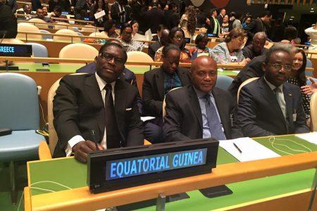 ¿Qué significa la representación de Guinea Ecuatorial ante la ONU por el Segundo Vicepresidente en estos momentos?