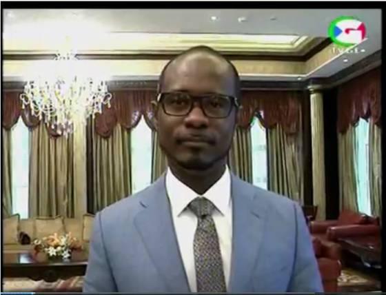 Antonio Engonga Oburu Director General de Gepetrol