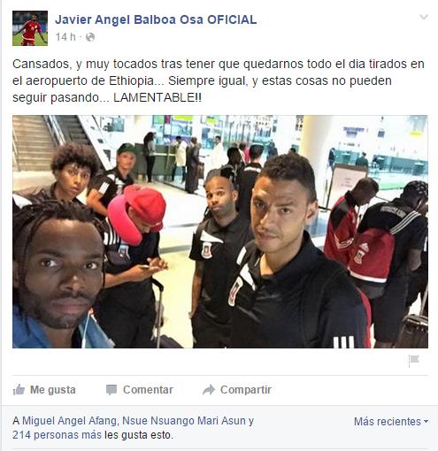 """Javier Balboa """"tocados y tirados en el aeropuerto. Estas cosas no pueden seguir pasando"""""""