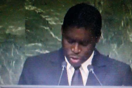 Nguema Obiang interviene en las Naciones Unidas en representación de su Padre