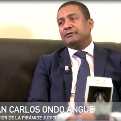 Entrevista al Presidente de la Corte Suprema de Justicia de Guinea Ecuatorial. Juan Carlos Angue Ondo.