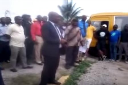 Vídeo: Arab Contractor despide 400 empleados destinados en Mongomo